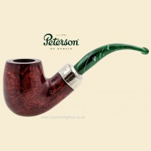 Peterson 2016 Christmas Smooth Large Bent Billiard Pipe xl90