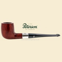 Peterson Deluxe Classic Terracotta Smooth Straight Bing Crosby Pipe 102