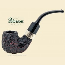 Peterson Donegal Rocky Rustic Bent Billiard Pipe 221