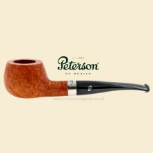 Peterson Short Natural Smooth Curved Apple Pipe 406
