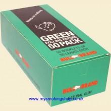 Bull Brand Green Regular Rolling Papers 50 Packs