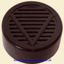 Mysmokingshop Classic Round Black Cigar Humidor Humidifier Hydrator