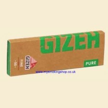 Gizeh Pure Regular Hemp Rolling Papers 1 Pack