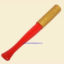 9cm Regular Ejector Red/Gilt Cigarette Holder