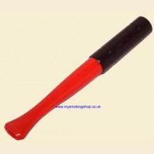 9cm Regular Ejector Red/Black Cigarette Holder