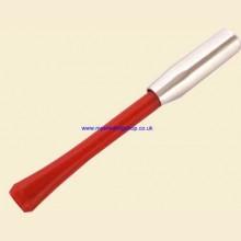 9cm Slim Ejector Red/Chrome Cigarette Holder