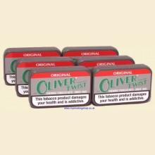 Oliver Twist ORIGINAL Smokeless Chewing Tobacco Bits 6 Packs