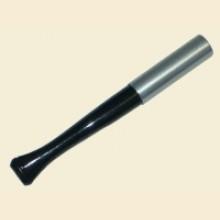 9cm Regular Ejector Black/Chrome Cigarette Holder