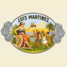 Luis Martinez Crystal Churchill Box of 20 Nicaraguan Cigars