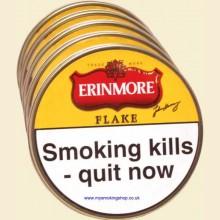 Erinmore Flake Pipe Tobacco 5 x 50g Tins