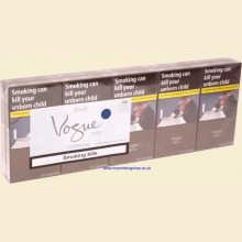 Vogue Superslims ESSENCE Blue 10 Packs of 20 Cigarettes Bleue