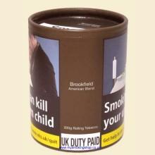 Brookfield American Blend Hand Rolling Tobacco 200g Tub