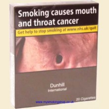 Dunhill International 1 Pack of 20 Cigarettes