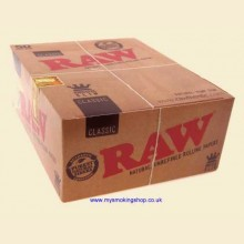 RAW Classic 110mm King Size Slim Rolling Papers 50 Packs
