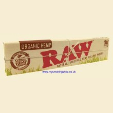 RAW Organic 110mm King Size Slim Rolling Papers 1 Pack