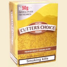 Cutters Choice Original Hand Rolling Tobacco 5 x 50g Pouches
