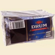 Drum Original Blue Hand Rolling Tobacco 5 x 50g Pouches