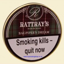 Rattray's Bagpipers Dream Pipe Tobacco 50g Tin