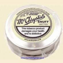 McChrystals Snuff Original & Genuine Large 8.75g Tin