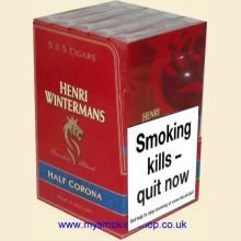 Henri Wintermans Half Corona 5 Packs of 5 Cigars