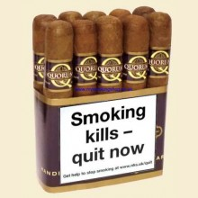 Quorum Classic Robusto Bundle of 10 Nicaraguan Cigars