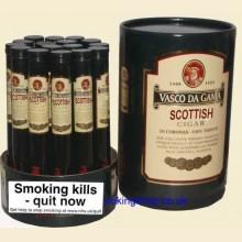 Vasco Da Gama Scottish Box of 16 Tubed Cigars