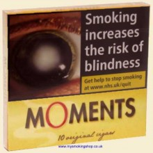 Willem II Moments Pack of 10 Miniature Cigars