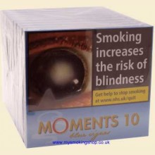 Willem II Moments Blue 10 Packs of 10 Miniature Cigars