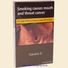 Karelia Slims ORIGINAL 10 Packs of 20 Cigarettes