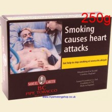 Samuel Gawith B C Cavendish Pipe Tobacco 250g Box
