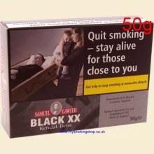 Samuel Gawith Black XX Roll Twist Pipe Tobacco 50g Tin