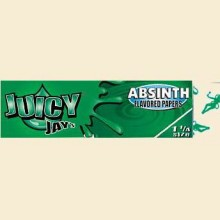 Juicy Jay's Absinth Flavour 79mm Rolling Papers 1 Pack