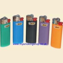 5 x Mini BIC Disposable Cigarette Lighters