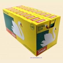 Swan Extra Slim Filter Tips 20 Packs of 120