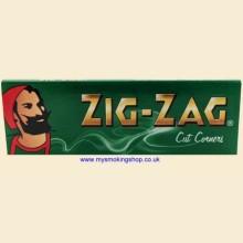 Zig-Zag Regular Green 70mm Rolling Papers 1 Pack