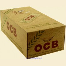 OCB Organic Hemp Regular Rolling Papers 50 Packs