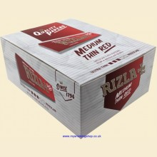 Rizla King Size Red 100mm Rolling Papers Box of 50 Packs