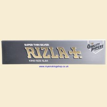 Rizla King Size Super Thin Silver Slim 110mm Rolling Papers 1 Pack