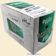 Rizla Regular Green 70mm Rolling Papers Box of 100 Packs