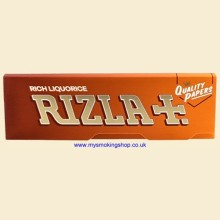 Rizla Regular Rich Liquorice 70mm Rolling Papers 1 Pack
