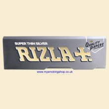Rizla Regular Silver Super Thin 70mm Rolling Papers 1 Pack