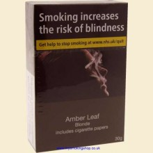Amber Leaf Blonde Hand Rolling Tobacco 30g Box
