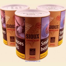 Sioux Virginia Volume (Additive Free) Pipe Shag Smoking Tobacco 3 x 50g Tubs
